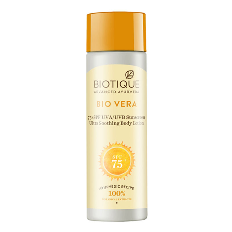 Biotique Bio Vera Sunscreen Ultra Soothing Body Lotion SPF 75