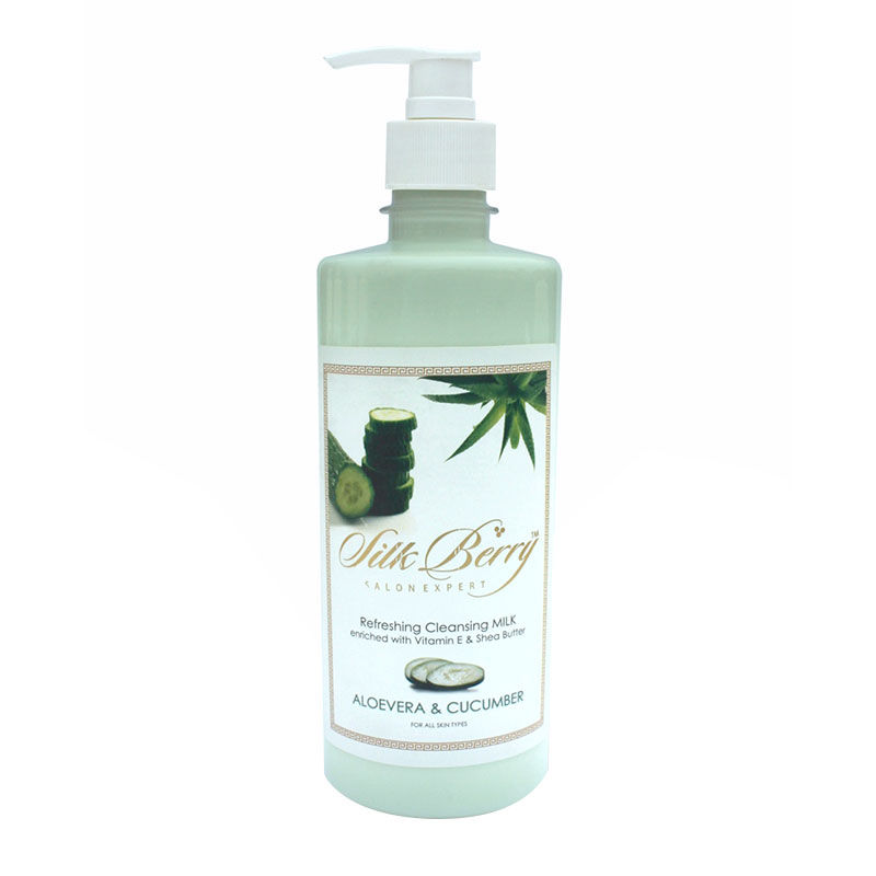 Silkberry Cucumber Aloevera Refreshing Cleansing Milk At Nykaacom