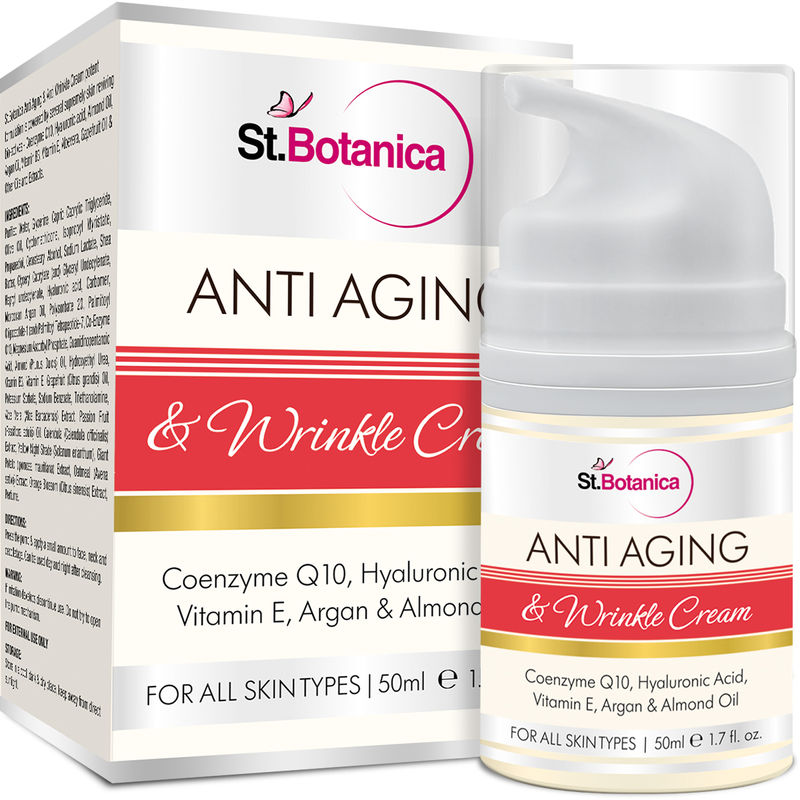 St.Botanica Anti Aging & Anti Wrinkle Cream