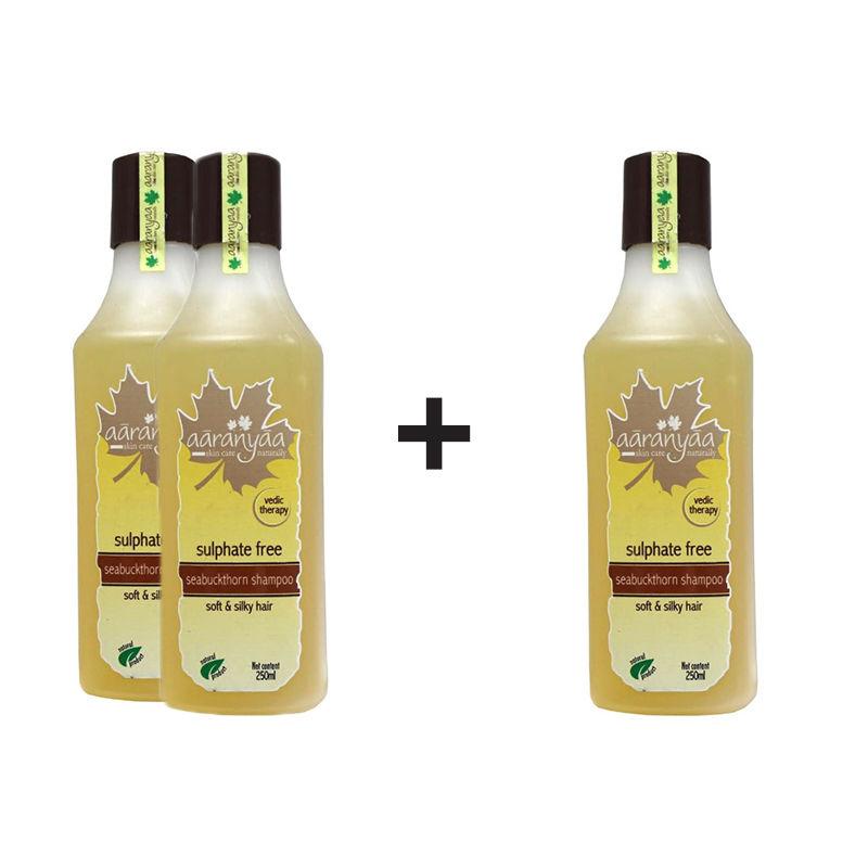 Aaranyaa Sulphate Free Seabuckthorn Shampoo (Buy 2 Get 1 Free)