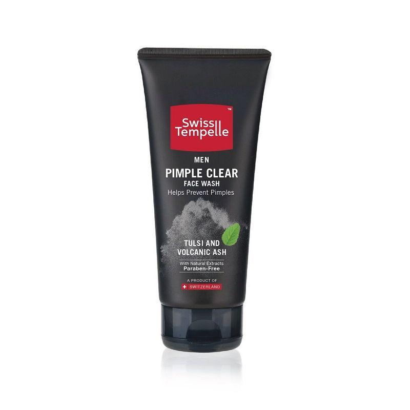 Swiss Tempelle Men Pimple Clear Face Wash - 7630041403176