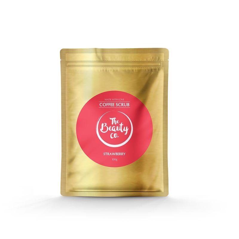 The Beauty Co. Coffee Scrub - Strawberry 100gm