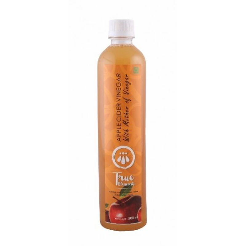 True Elements Apple Cider Vinegar With Mother Of Vinegar