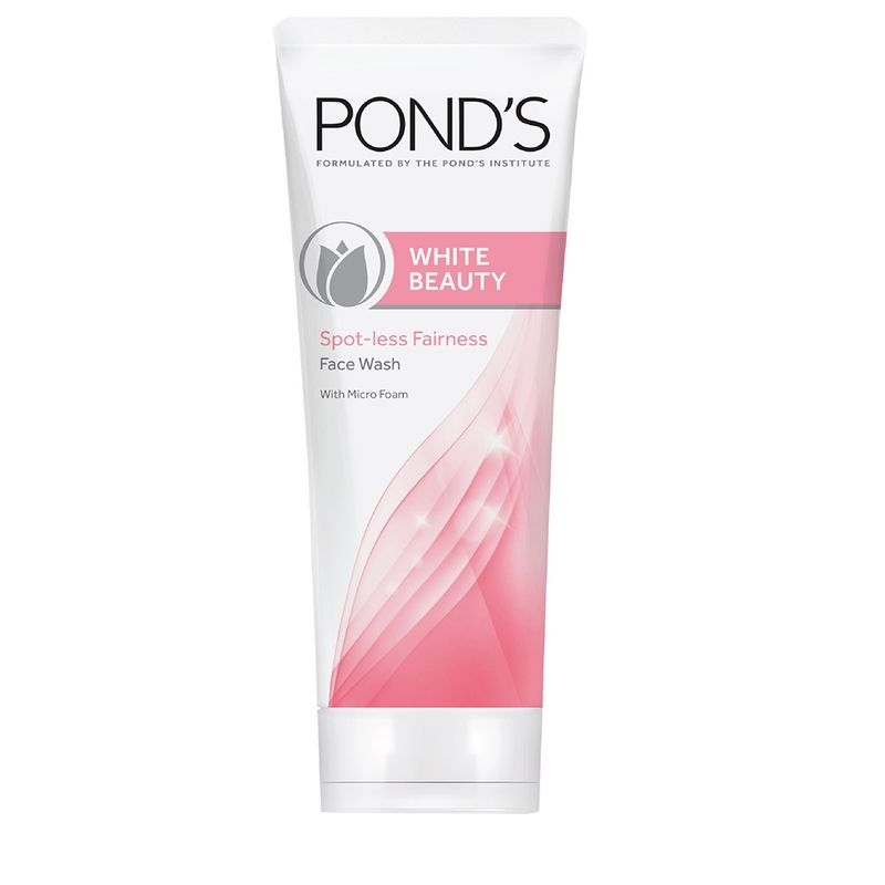 Ponds White Beauty Spot-less Fairness Face Wash With Micro Foam
