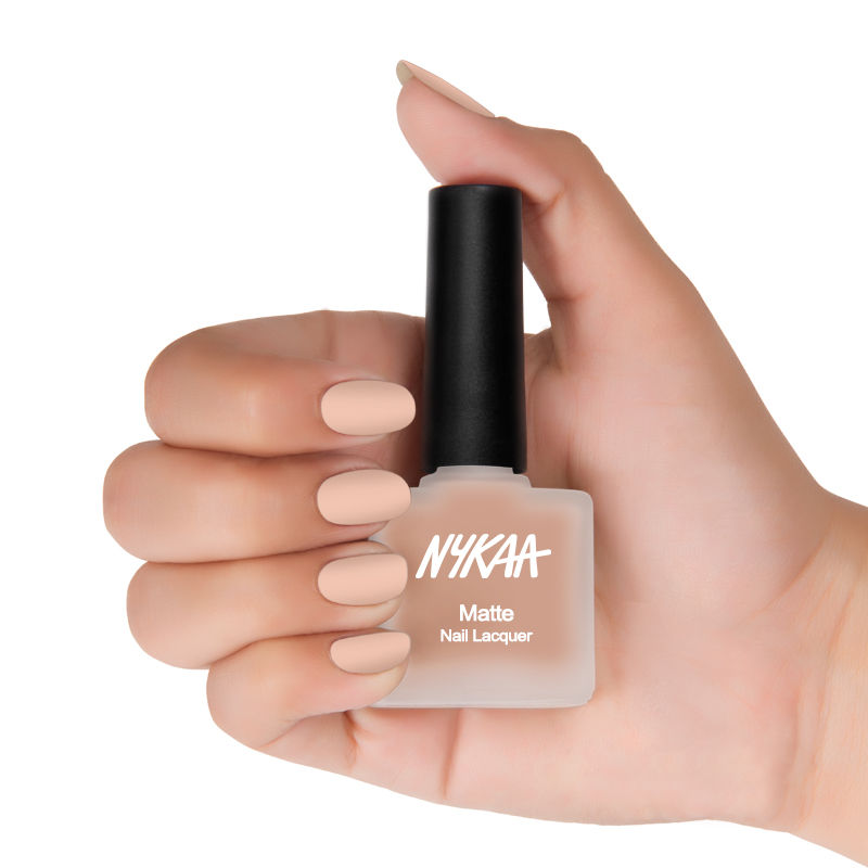 Nykaa Cosmetics Nail Polish - Buy Nykaa Matte Nail Lacquer ...