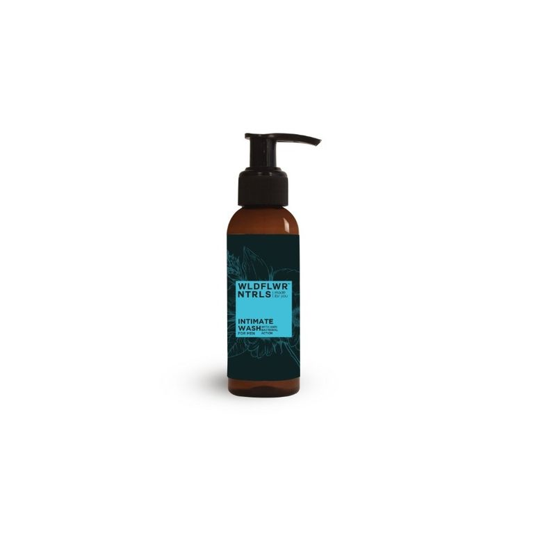 Wildflower Naturals Men With Anti Bacterial Action Intimate Wash