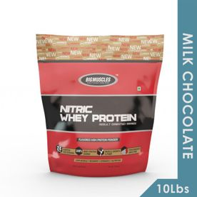 Big Muscles Nitric Whey Protein - Milk Chocolate
