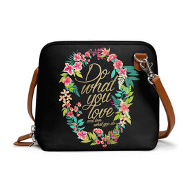 a76d74ab5446 Out of Stock. DailyObjects And Love What You Do - Trapeze Crossbody Bag