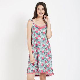 372199c8853 Mystere Paris Sexy Lace Floral Print Dress - Multi-Color