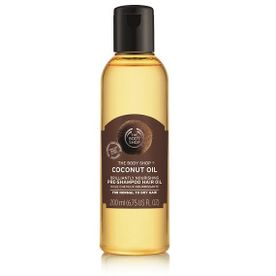 The Body Shop Coconut Oil Brillantly Nourishing Pre-Shampoo Hair Oil