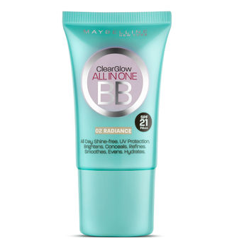Maybelline new york clear glow bb cream at for Bb shop