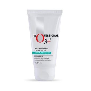 o3 sun protection buy o3 mattifying gel cream spf 50 advance