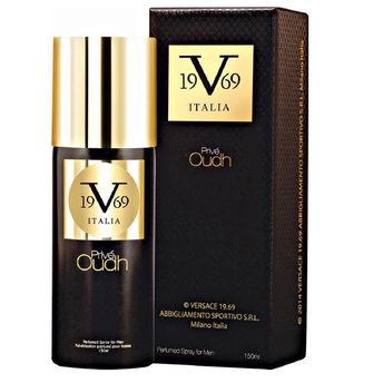 019213c4bd02fb Versace 19.69 Italia La Abbigliamento Sportivo SRL Prive Oudh Spray For  Men(150ml)