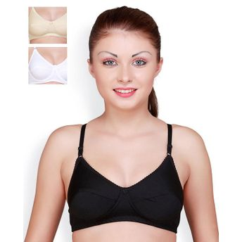 Floret Pack of 3 Full Coverage Padded Bras - Multi-Color at Nykaa.com 3b6413429