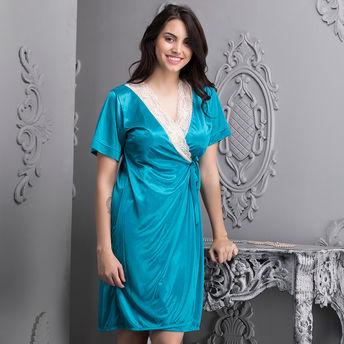 3a606fe1a6 Clovia 6 Pc Nightwear Set - Blue (One Size) at Nykaa.com