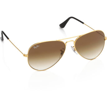 a854efdd6f4 Ray-Ban Aviator Sunglasses - RB3025-001-51 at Nykaa.com