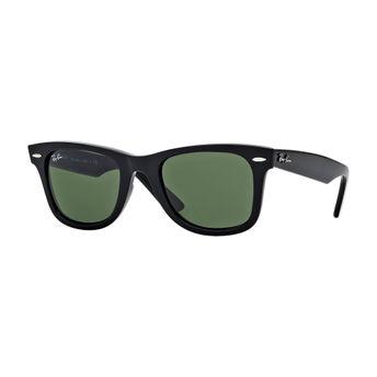 752cd1a988d9 Ray-Ban Green Polarized Wayfarer Sunglasses - RB2140 901 58 54-18 at ...