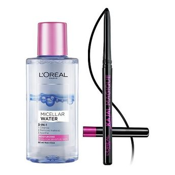 Get upto 37% off on L'Oreal Paris Micellar Water + Free Kajal Magique