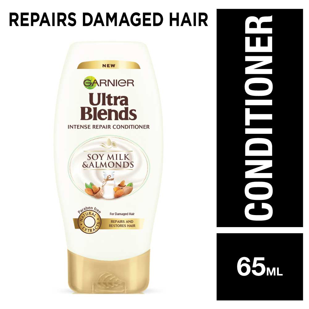 Garnier Ultra Blends Soy Milk & Almonds Conditioner