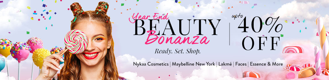 Year End offers on Beauty